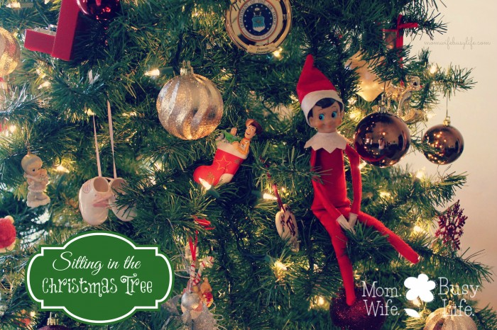 Elf on the Shelf Ideas christmas tree