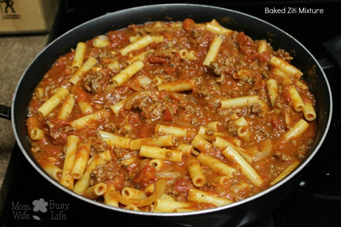 Baked Ziti Mixture