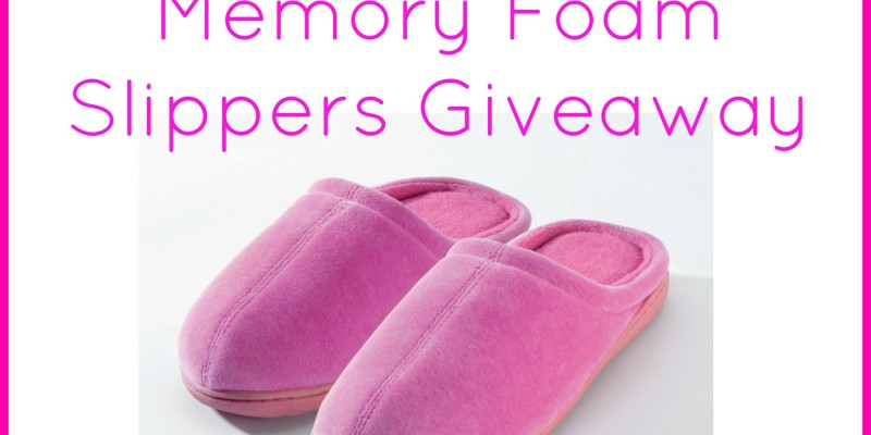 memory-foam-slippers-giveaway