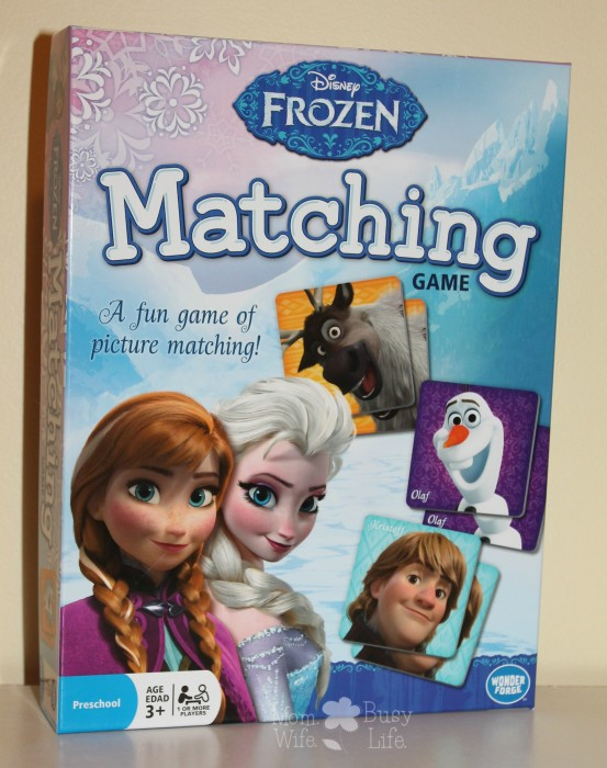 Disney Frozen Matching Game Review
