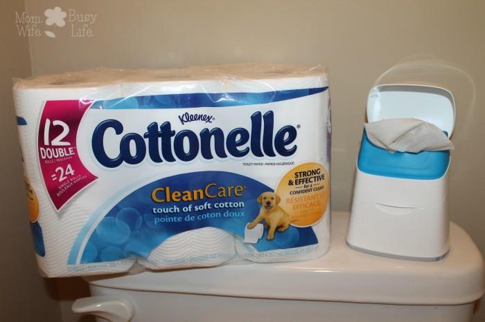Cottonelle cloths