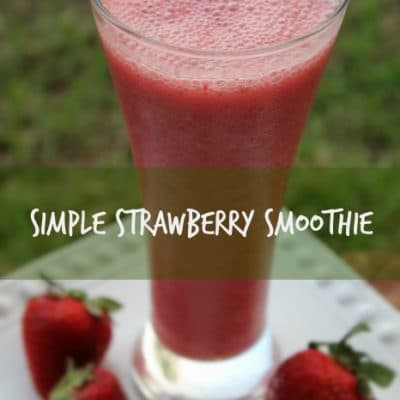 Simple-strawberry-smoothie-466x700