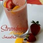 Strawberry Mango Smoothie 5