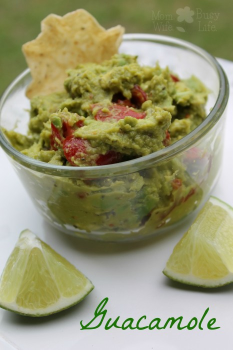 Easy Guacamole Recipe - Mom. Wife. Busy Life.