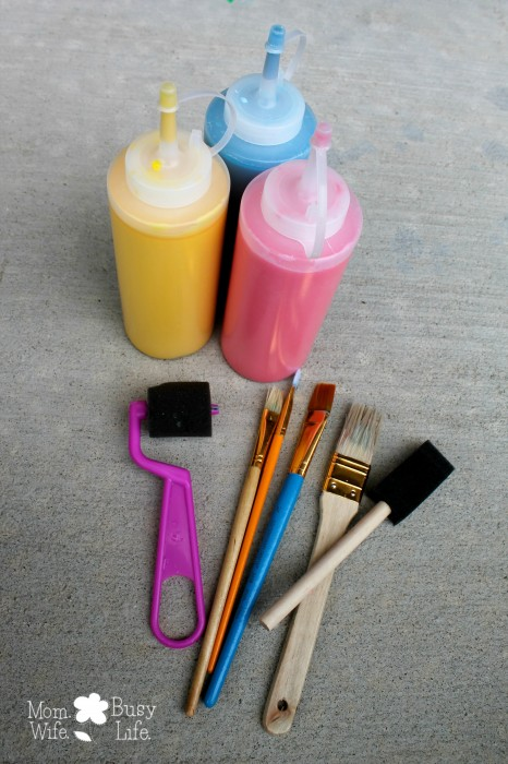 How to Make Liquid Sidewalk Chalk