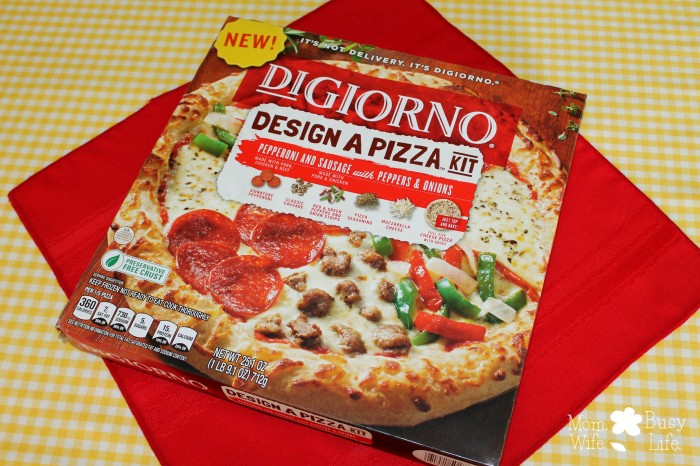 design a pizza kit