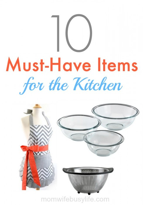 items for the kitchen
