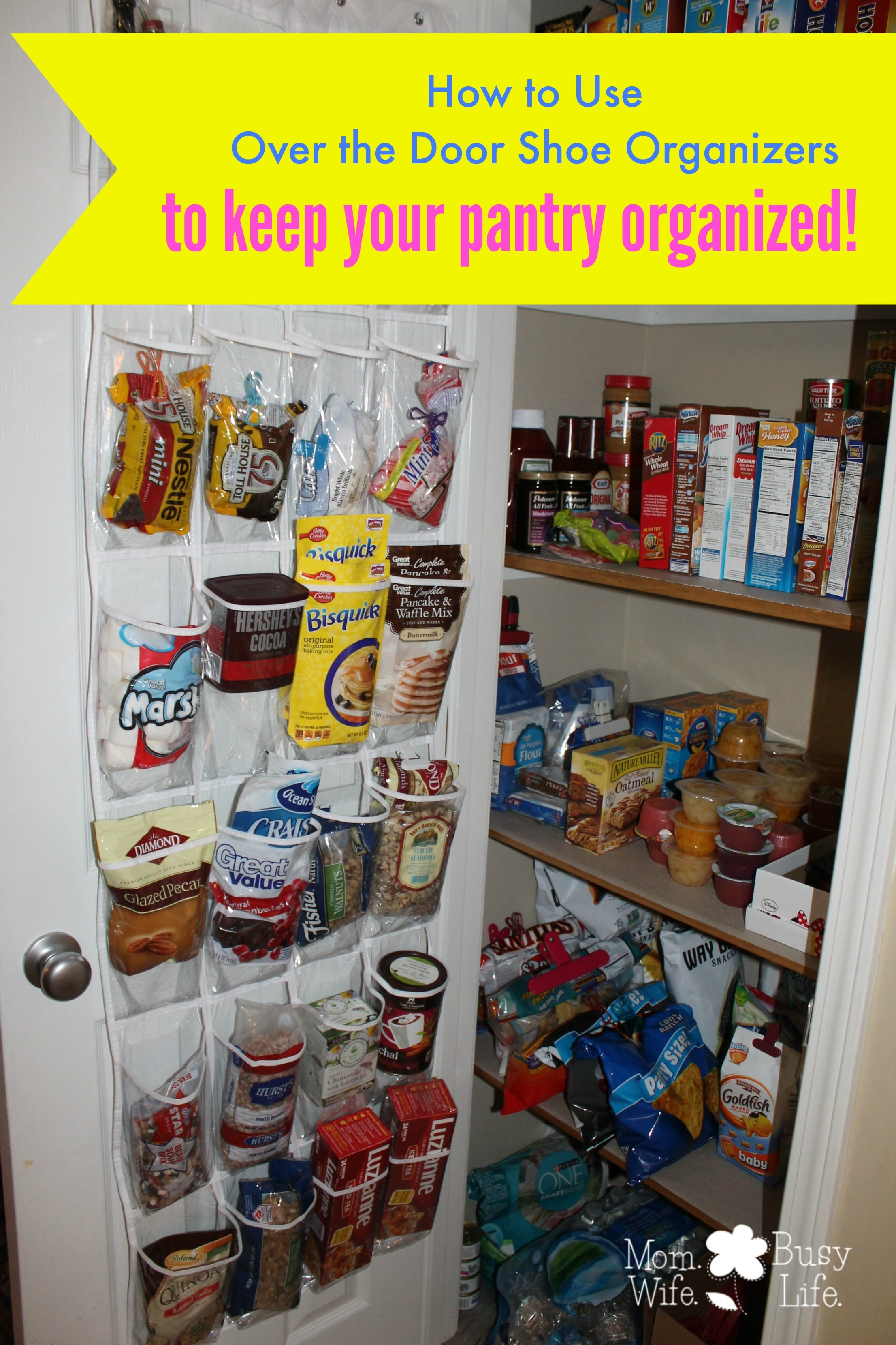 How to use over the door shoe organizers to keep your pantry over the door shoe organizers workwithnaturefo