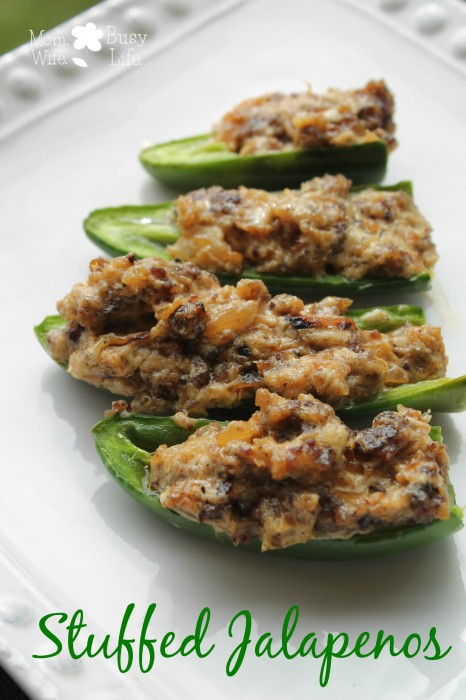Sausage and Cream Cheese Stuffed Jalapenos