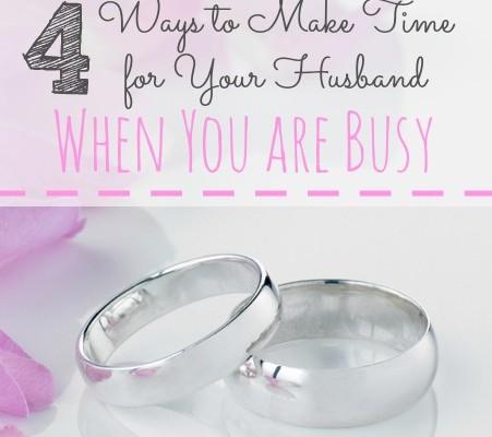 make time for husband