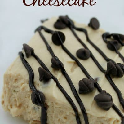 Peanut Butter Cheesecake Low Carb Recipe