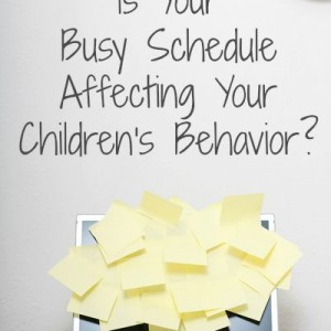 childrens behavior