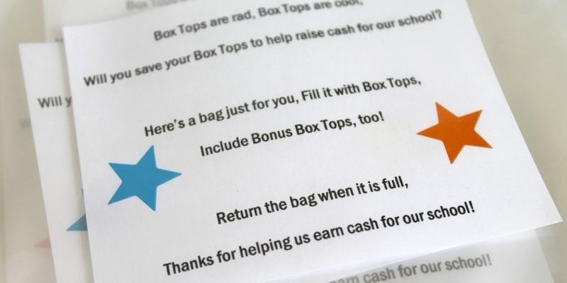 Box Tops Bags