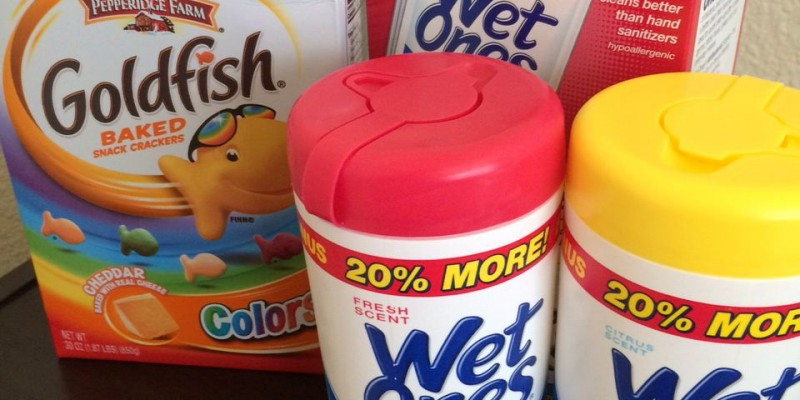 Goldfish and Wet Ones 3