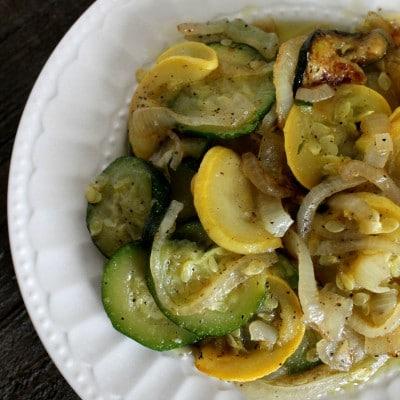 Sauteed Zucchini and Squash