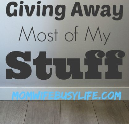get rid of your stuff