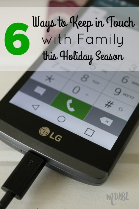 ways to keep in touch with family