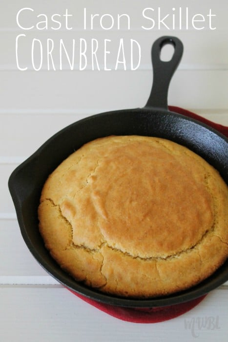 Cast Iron Skillet Cornbread Recipe