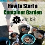 How to Start a Container Garden with Kids Hero Image