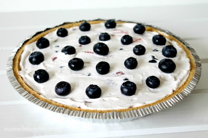 chilled triple berry pie recipe