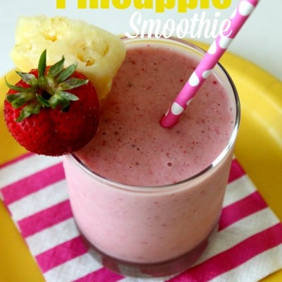 Strawberry Pineapple Smoothie Recipe