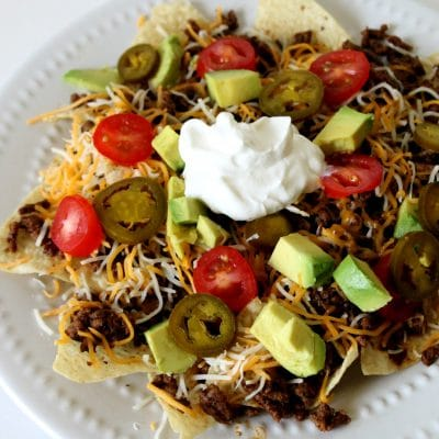 spicy beef nachos recipe