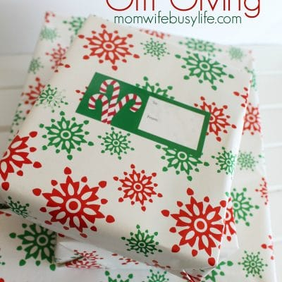How to Simplify Gift Giving
