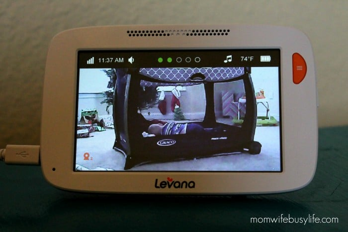 """Willow™ 5"""" HD Touchscreen PTZ Video Baby Monitor"""