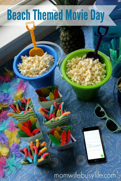 Beach Themed Movie Day