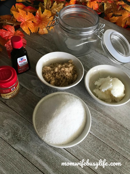 DIY Pumpkin Vanilla Sugar Scrub