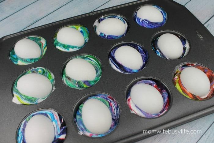 whipped cream easter eggs 8