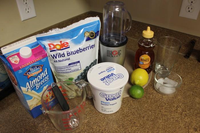 blueberry lemon lime smoothie recipe