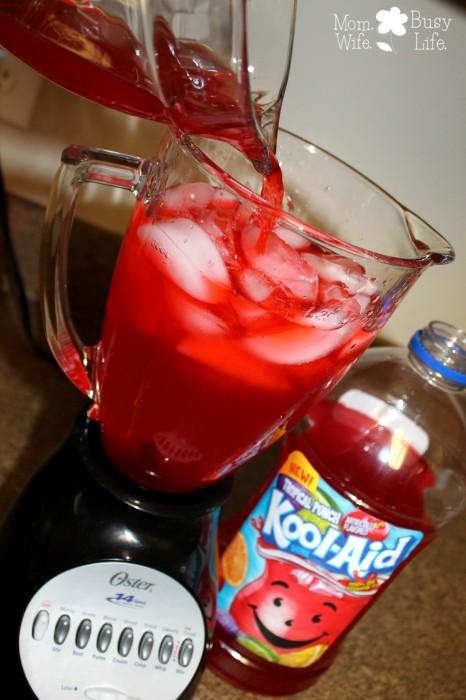 fruit juice slush
