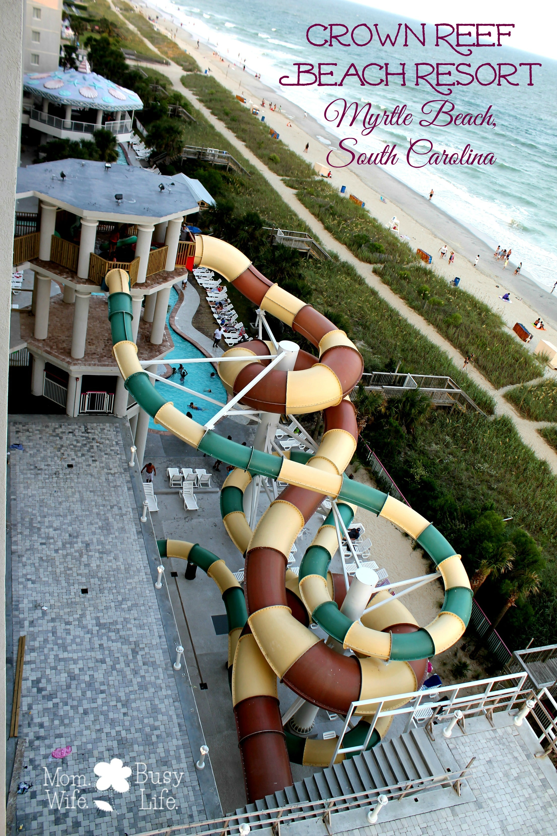Crown Reef Beach Resort Review Myrtle South Carolina Mom Wife Busy Life