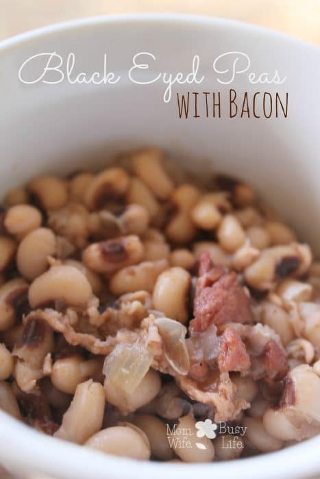 black eyed peas with bacon recipe