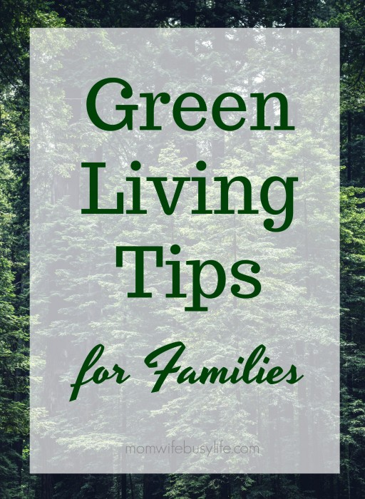 green living tips for families