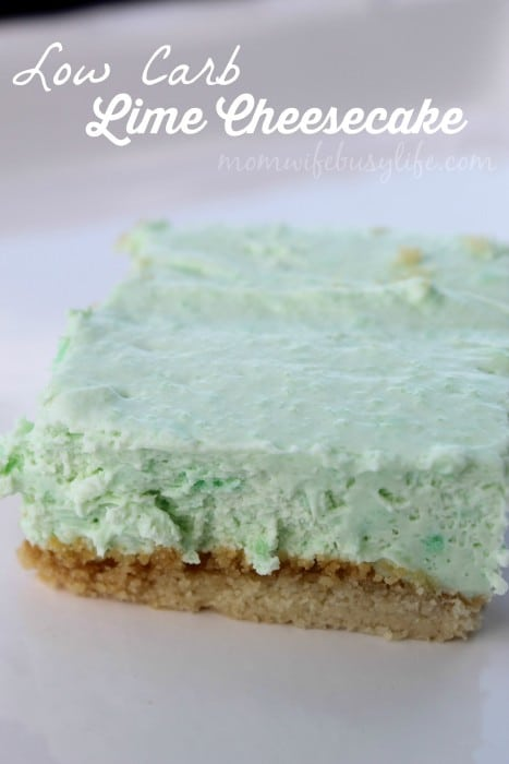Low Carb Lime Cheesecake 2