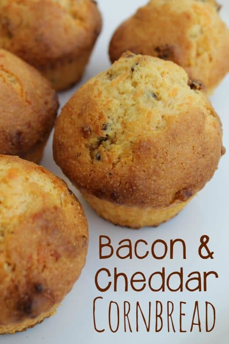 Bacon and Cheddar Cornbread Recipe