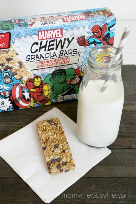 marvel chewy granola bars