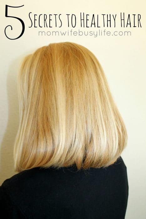 Hair Care Tips for Moms