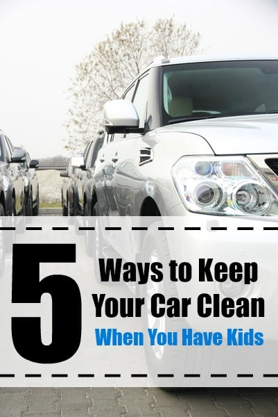 How to Keep Your Car Clean When You Have Kids