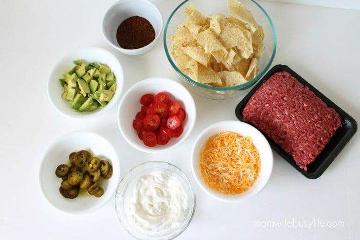 spicy beef nachos recipe