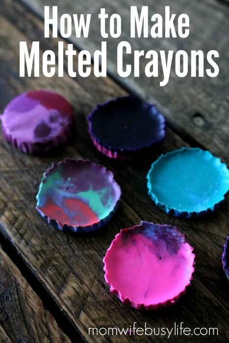 How to Make Melted Crayons