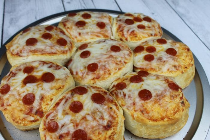 Easy Cheesy Biscuit Pizza