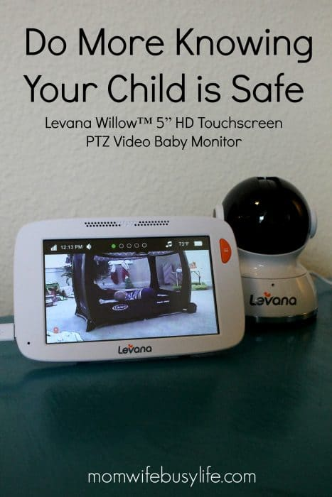 "Willow™ 5"" HD Touchscreen PTZ Video Baby Monitor"