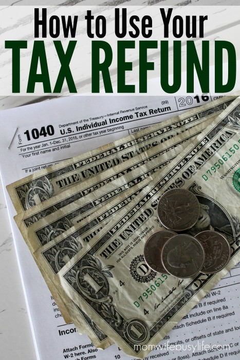 how to use your tax refund