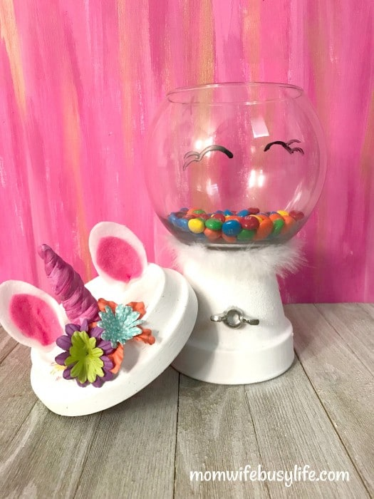 Unicorn Inspired Candy Machines
