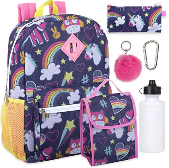 back to school unicorn backpacks