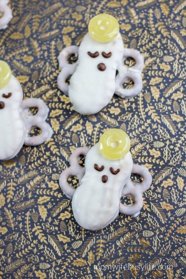 Angel Nutter Butter Cookies