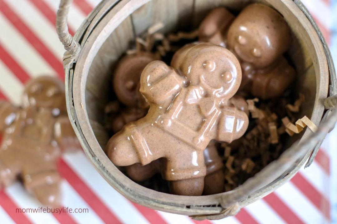 Gingerbread Man Soap Recipe